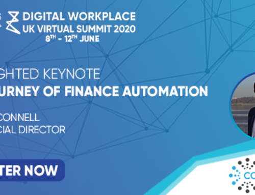 Finance Automation Keynote at Digital Workplace UK Virtual Summit
